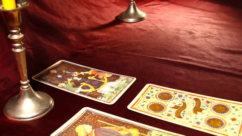 Tarot Cards 05 Footage