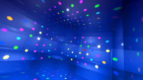Disco Light RCr c4 HD Stock Video Footage