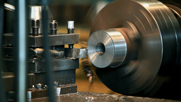 lathe Stock Video Footage