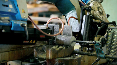 band saw Stock Video Footage
