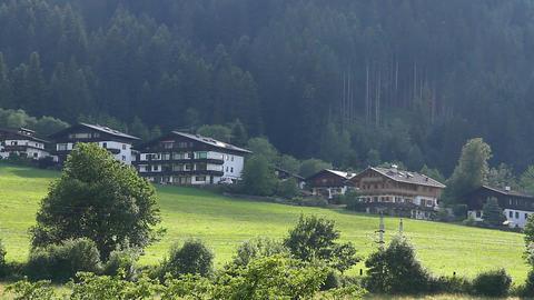 European Alps Tirol 02 Stock Video Footage