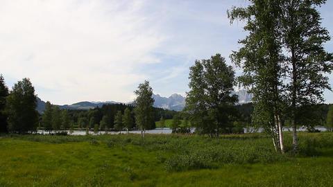Mountains Beauty Scene 01 Stock Video Footage