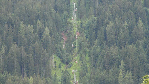 Ski Lifts in the Summer 02 Footage