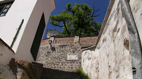 Old European Village 01 Stock Video Footage