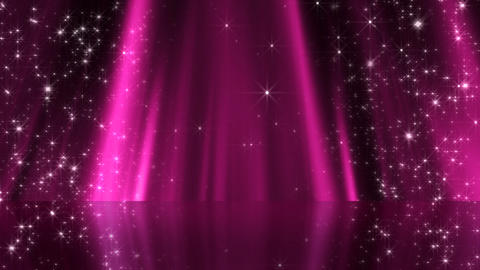 Stage Curtain 3 Bc5 HD Animation