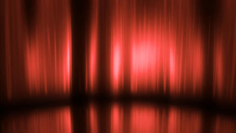 Stage Curtain 3 Cc HD Stock Video Footage
