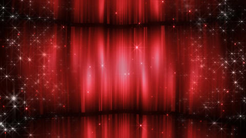 Stage Curtain 3 Cc3 HD Animation
