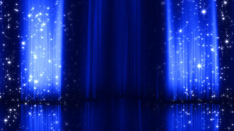 Stage Curtain 3 Da2 HD Stock Video Footage