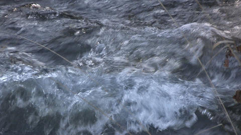 Mountain river - nat -sound Stock Video Footage