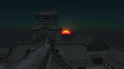 Japan Castle Stock Video Footage