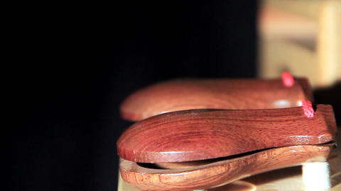 Castanets Stock Video Footage