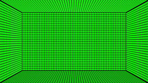 Green Screen Design 25 box flickering Animation