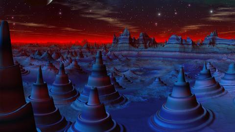 City of aliens Animation