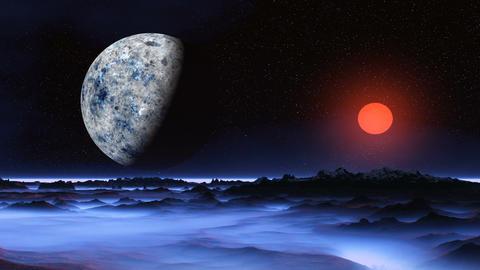 Fantastic planet. Rising Animation