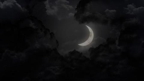 Moon Realcg Stock Video Footage