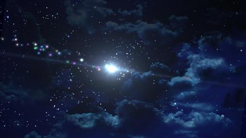 night star Stock Video Footage