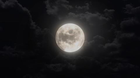 silent moon Stock Video Footage