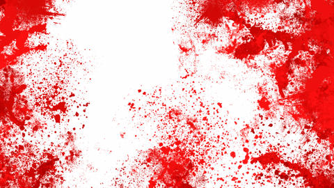 Blood splashes Stock Video Footage