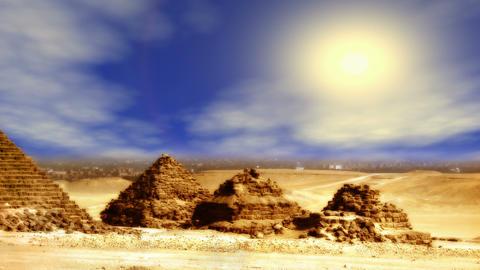 Giza Pyramids Stock Video Footage