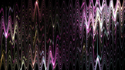 flare wave lighting in dark background,tech energy... Stock Video Footage