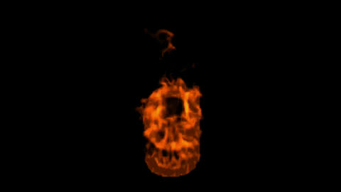fire alphabet g Stock Video Footage