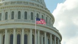 U.S. Capitol Building In Washington D.C stock footage