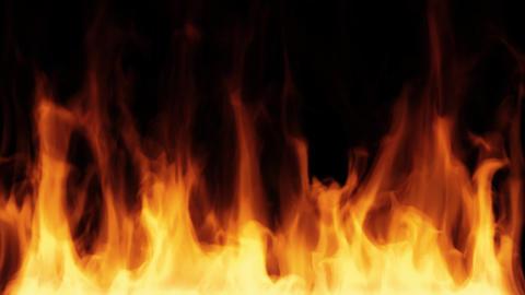 FIRE HD loop Animation