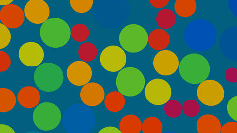 Color circles Stock Video Footage
