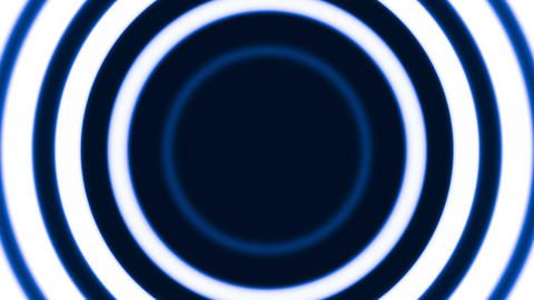 Blue rings Stock Video Footage