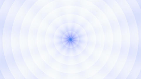 Rotating circles and rays Stock Video Footage