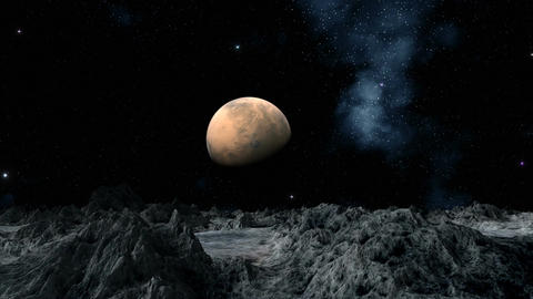 Mars Stock Video Footage