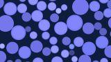 Rotating Blue Full-spheres stock footage