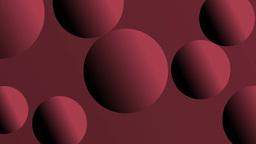 Rotating full-spheres Stock Video Footage