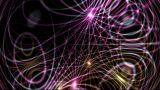 Flowing Dynamic Abstract Lines,tech Energy Transfer,stars,festival Background,Hollywood.Crystal,stru stock footage