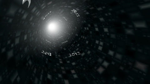 Tunnel 2012 Stock Video Footage
