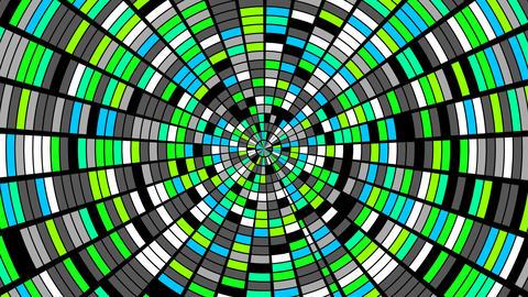 Rotation. Blinking Animation
