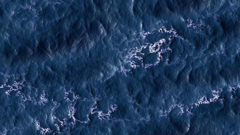 Ocean. The sea. Waves Animation