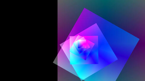Rotating squares, Stock Animation