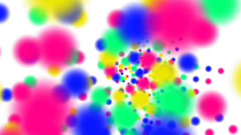 Color full-spheres Stock Video Footage