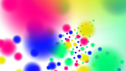 Color full-spheres Animation