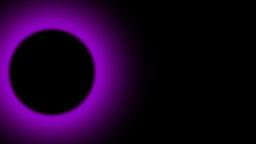 The dark moon Stock Video Footage