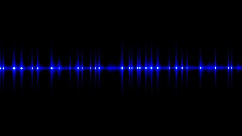 Flickering dark blue light Stock Video Footage