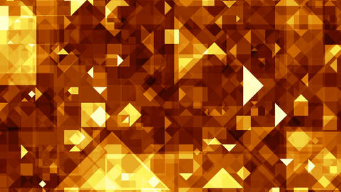 Gold (yellow) crystals Stock Video Footage