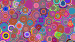 Bright color circles Animation