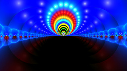 Abstraction - a fantastic tunnel Stock Video Footage