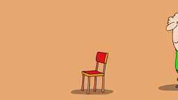 THE CHAIR Stock Video Footage