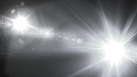 pure white Flash flare Animation
