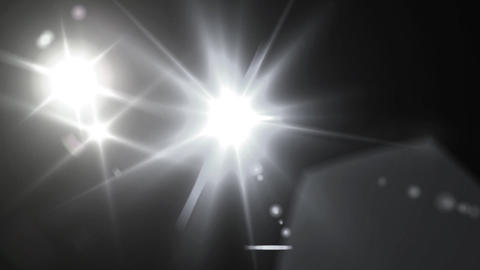 pure white Flash flare Stock Video Footage