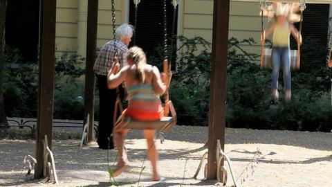 swing Stock Video Footage