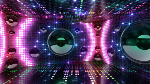 Disco Space 3 RArC1B HD Animation